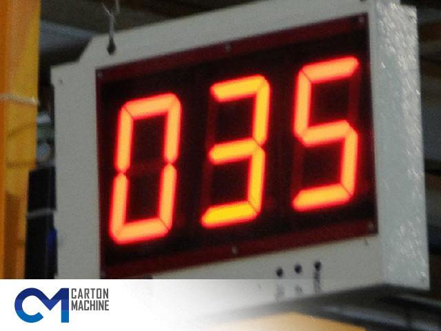 نمایشگر سرعت خط تولید